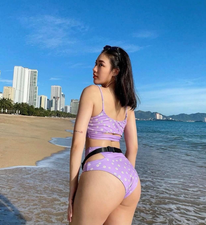 Hot girl phòng gym Nha Trang sở hữu vòng 3 tròn trịa đẹp mắt nhờ đâu? - hình ảnh 4