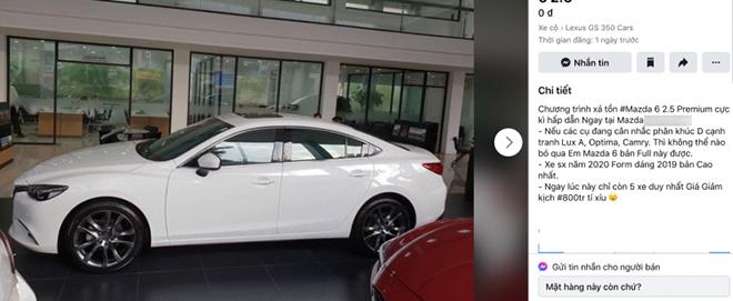 Mazda6 Premium đời 2020 được một số đại lý giảm giá hơn 100 triệu đồng - 3