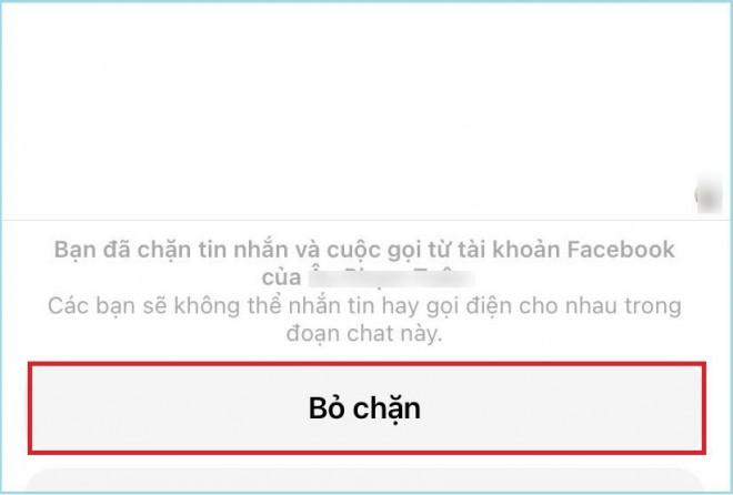Mẹo chặn và bỏ chặn Facebook Messenger trên điện thoại - 3