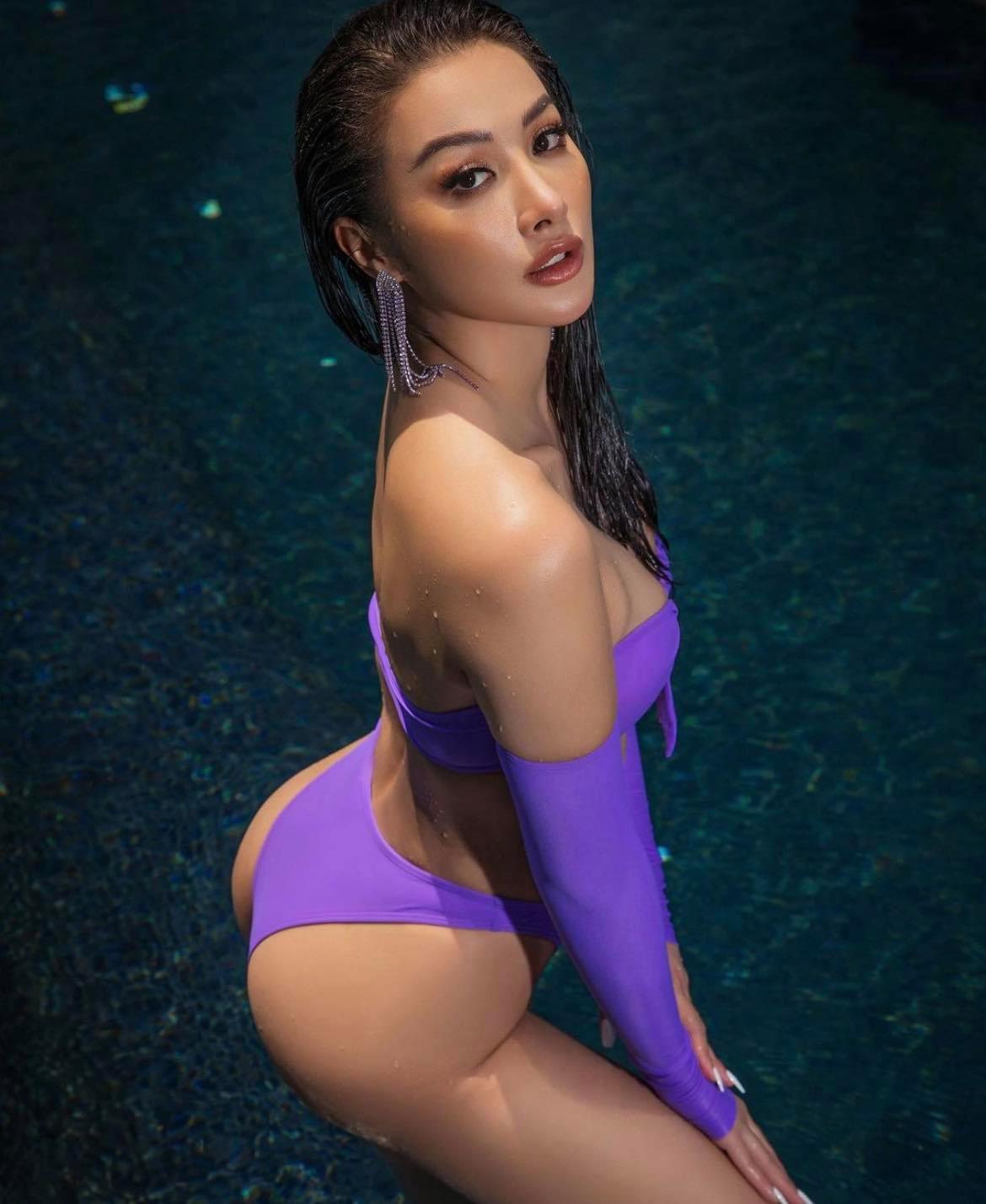 """Đây hẳn là mỹ nhân mặc bikini sexy bậc nhất showbiz Việt, gợi cảm """"chết người"""" - hình ảnh 2"""