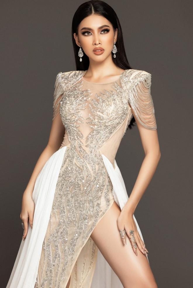 Cận cảnh bộ váy ý nghĩa của của Ngọc Thảo dự thi đêm Bán kết Miss Grand International 2020 - 5