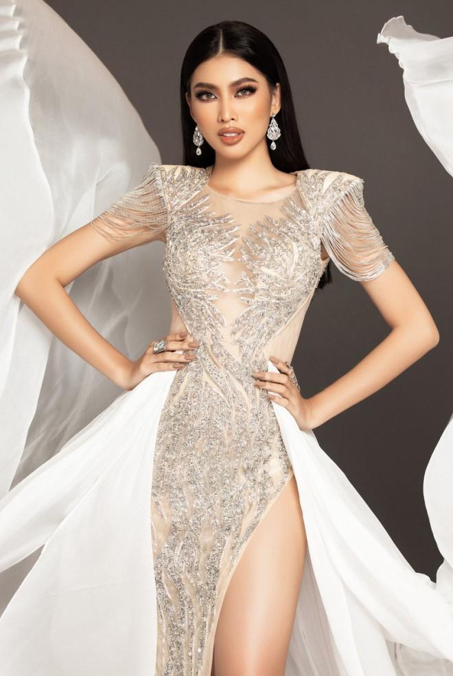 Cận cảnh bộ váy ý nghĩa của của Ngọc Thảo dự thi đêm Bán kết Miss Grand International 2020 - 4
