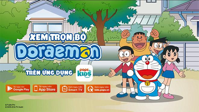 Vì sao bố mẹ nên cho con xem hoạt hình Doraemon trên ứng dụng POPS Kids? - 1