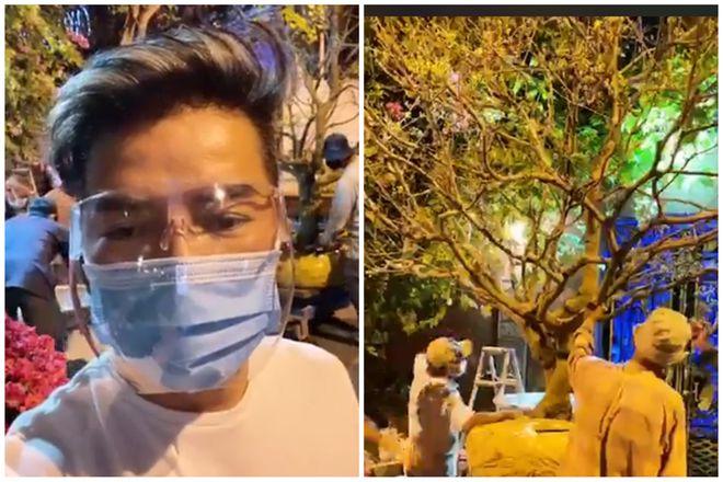 Đàm Vĩnh Hưng thuê xe cẩu sang nhà fan làm điều bất ngờ - hình ảnh 3