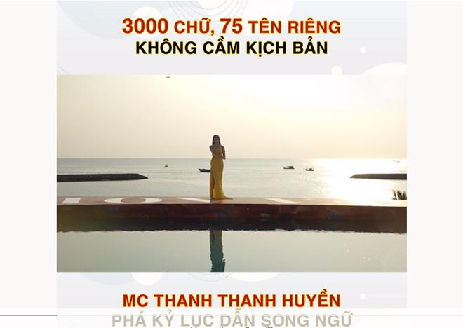"""Nữ MC gây """"choáng"""" với màn dẫn song ngữ 3.000 chữ không vấp, không cầm kịch bản là ai? - 1"""