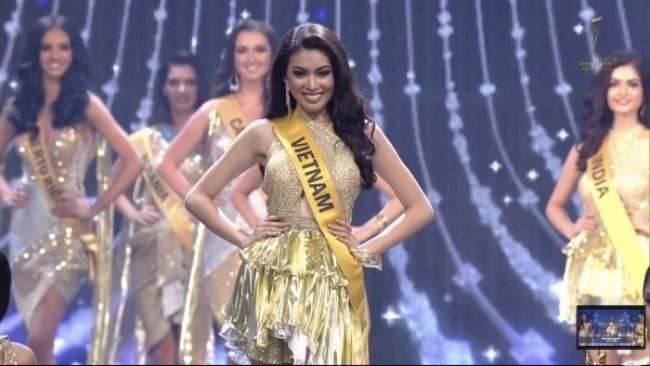 Ngọc Thảo dừng chân top 10 Hoa hậu Hoà bình quốc tế 2020 gây tiếc nuối - hình ảnh 2