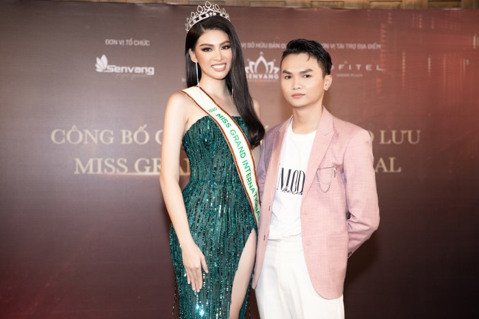 Hé lộ người làm nên gu thời trang của Ngọc Thảo tại Hoa hậu Hoà bình quốc tế 2020 - 1