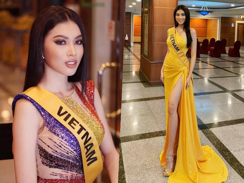 Hé lộ người làm nên gu thời trang của Ngọc Thảo tại Hoa hậu Hoà bình quốc tế 2020 - 4