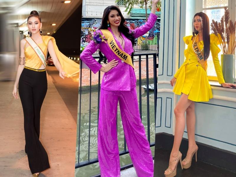 Hé lộ người làm nên gu thời trang của Ngọc Thảo tại Hoa hậu Hoà bình quốc tế 2020 - 5