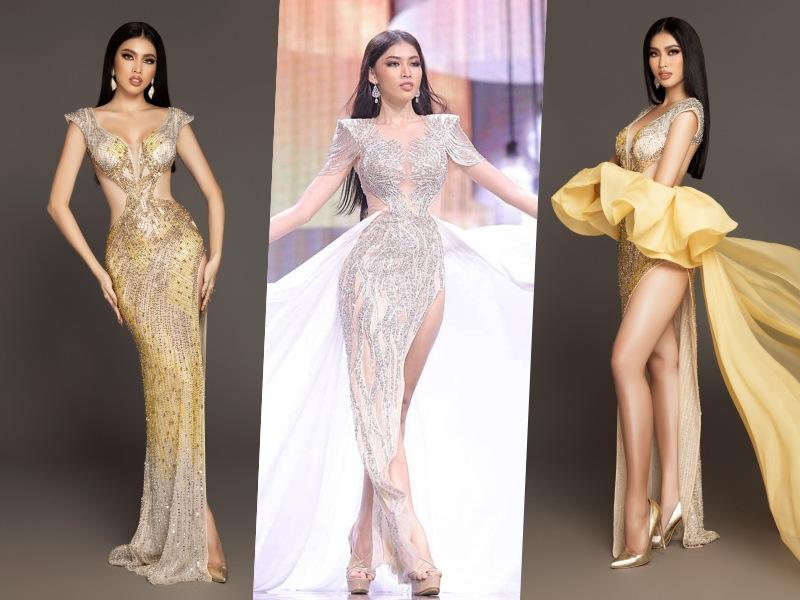 Hé lộ người làm nên gu thời trang của Ngọc Thảo tại Hoa hậu Hoà bình quốc tế 2020 - 7