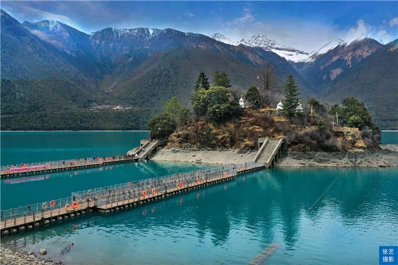 """Tháng 3, thiên đường ở Tây Tạng được ví như """"Thụy Sĩ phương Đông"""" - hình ảnh 15"""