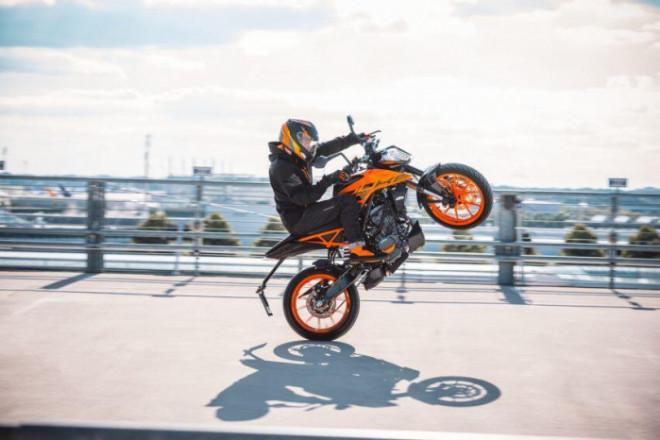 Mô tô thể thao KTM Duke 200 2021 ra mắt, giá 69,5 triệu đồng - 8