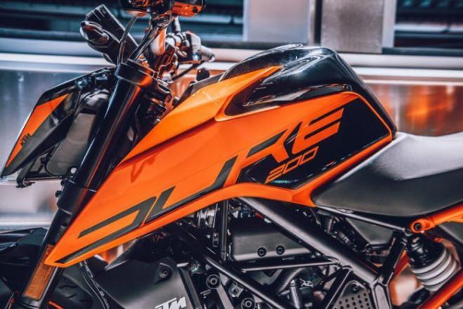 Mô tô thể thao KTM Duke 200 2021 ra mắt, giá 69,5 triệu đồng - 11