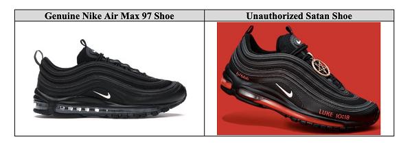 Nike kiện công ty bán sneaker có máu người thật - 5