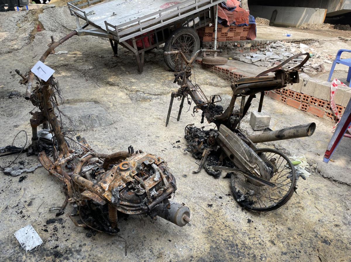 Ảnh: Hiện trường vụ cháy kinh hoàng khiến 6 người trong gia đình tử vong - hình ảnh 7