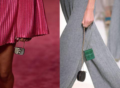 Vì sao những chiếc túi xách trên thế giới đang bé xíu lại, đến mức thành mặt dây chuyền? - 14