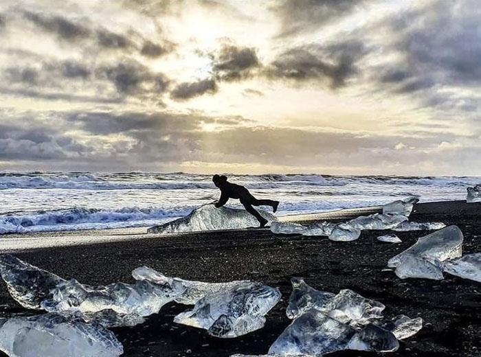 """Bãi biển """"kim cương"""" tuyệt đẹp ở Iceland - hình ảnh 3"""