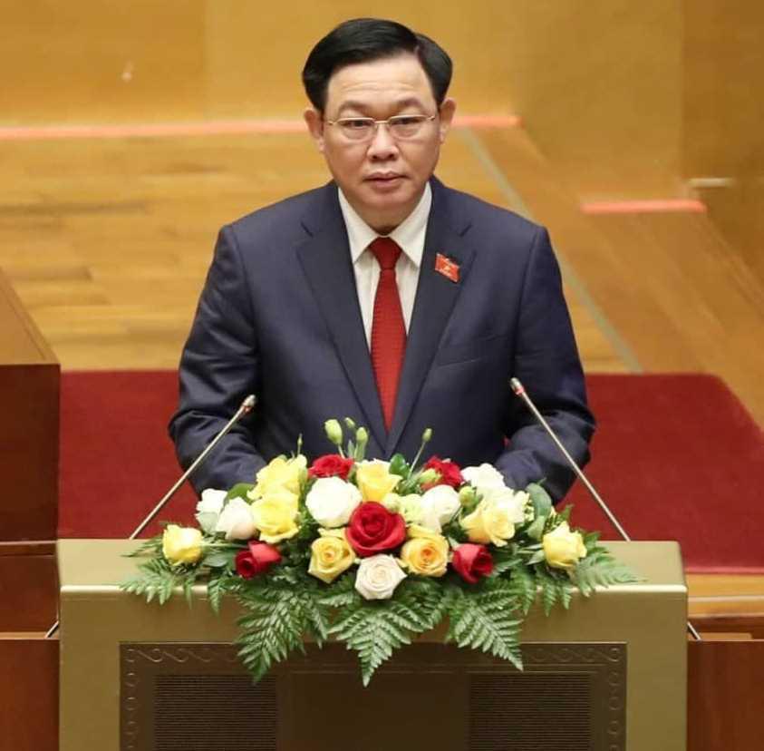 """Tân Chủ tịch Quốc hội Vương Đình Huệ: """"Phụng sự lợi ích quốc gia, dân tộc, vì hạnh phúc nhân dân"""" - 1"""