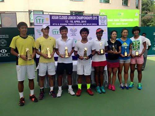 Hoàng Nam thâu tóm cú đúp vô địch tại Ấn Độ