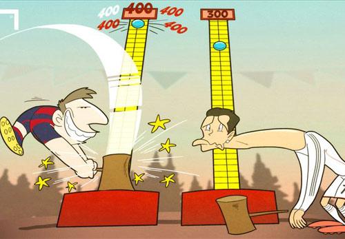 Tin HOT sáng 19/4: Messi cán mốc 400 bàn cho Barca