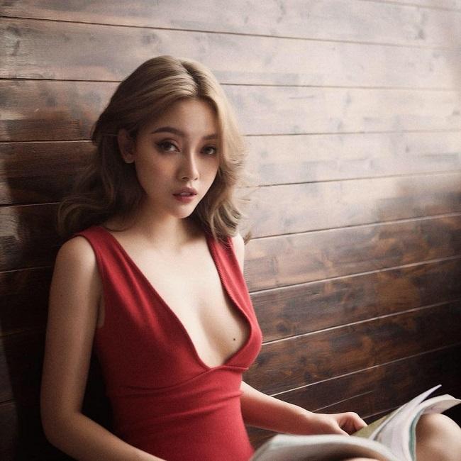 Bạn gái cũ xinh như mộng, gợi cảm của Lê Hiếu đi thi hoa hậu - hình ảnh 1