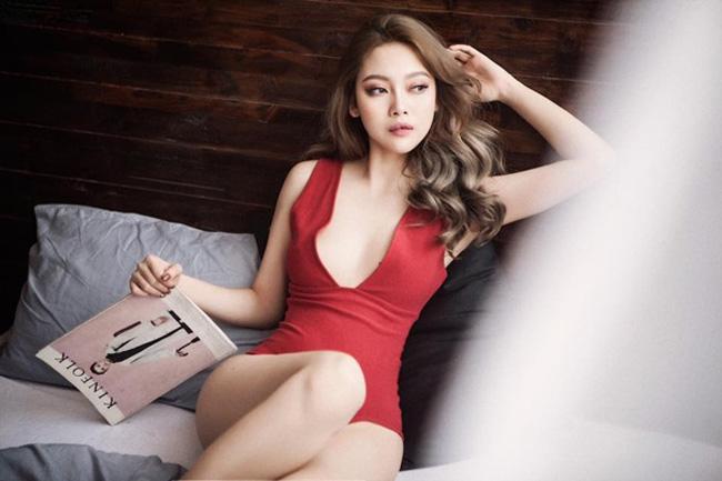 Bạn gái cũ xinh như mộng, gợi cảm của Lê Hiếu đi thi hoa hậu - hình ảnh 3