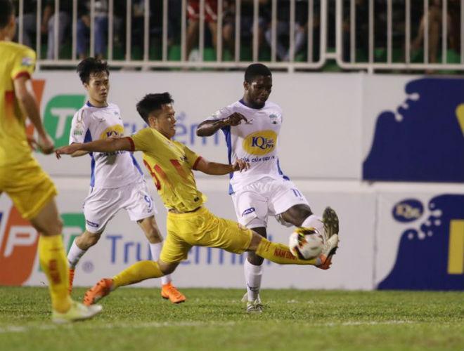 HAGL - Nam Định: Đôi công mãn nhãn, SAO U23 Việt Nam tỏa sáng - 1