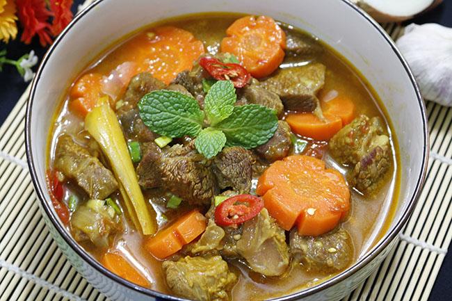 Bò kho nước dừa thơm lừng, ăn với cơm hay bún đều ngon hết ý - 8