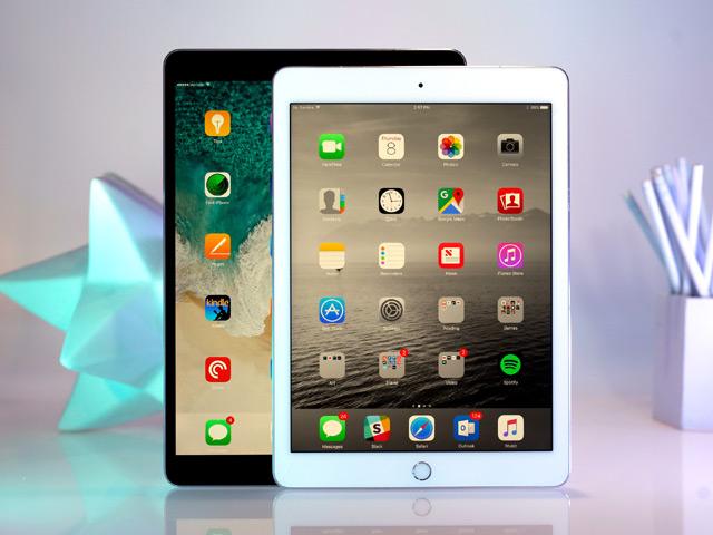 Video so sánh iPad Pro 10,5 inch và iPad 9,7 inch 2018