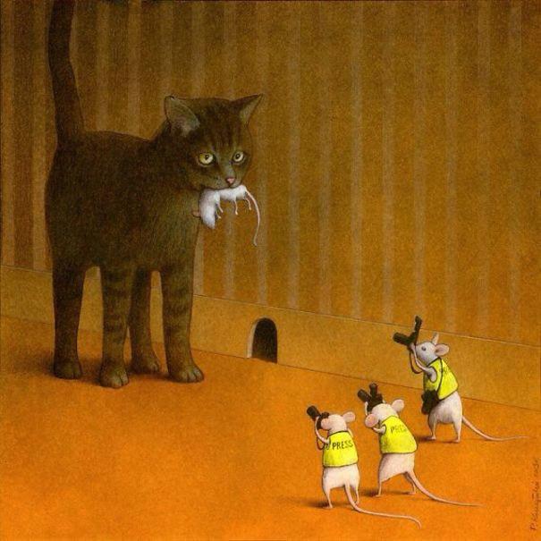 Những bức biếm họa khiến độc giả cười ra nước mắt - 1
