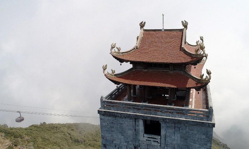 Dấu ấn kiến trúc thời Trần: Kiệt tác tâm linh Fansipan - hình ảnh 4
