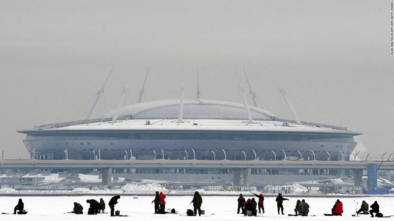 Du lịch qua 12 sân vận động World Cup của Nga - hình ảnh 1