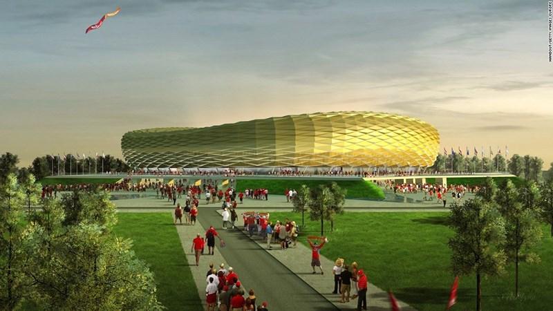 Du lịch qua 12 sân vận động World Cup của Nga - hình ảnh 2