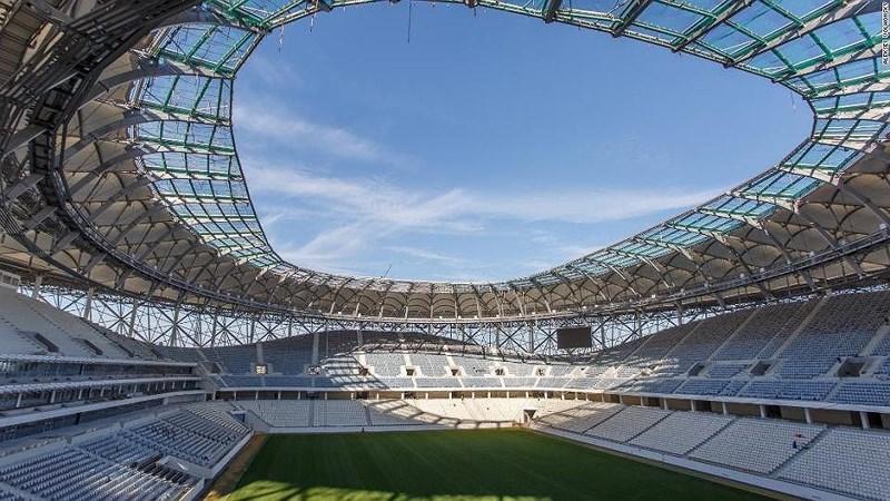 Du lịch qua 12 sân vận động World Cup của Nga - hình ảnh 8