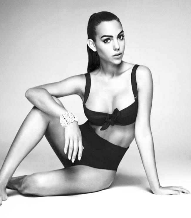 Bạn gái CR7: Hoa khôi mới trong dàn vợ bồ siêu xinh của Real,Juventus - hình ảnh 5