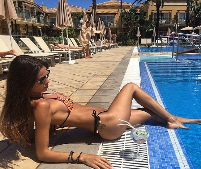 Bạn gái CR7: Hoa khôi mới trong dàn vợ bồ siêu xinh của Real,Juventus - hình ảnh 15