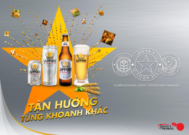 Gợi nhắc kỷ niệm, lan toả niềm vui cùng Sapporo Premium Beer - 1