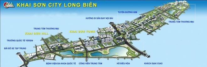 Khai Sơn City – thành phố bên sông Hồng: Một bước chân, ngàn tiện ích - 1