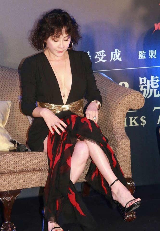 'Phát sốt' với gu mặc ngày càng táo bạo của mỹ nhân U60 Lưu Gia Linh - hình ảnh 6