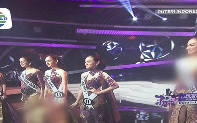 Phạm Hương bị che mờ ngực trên truyền hình Indonesia vì mặc quá hở? - hình ảnh 3