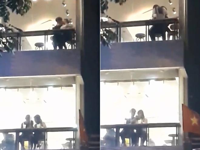 Cặp đôi hôn nhau mãnh liệt trong quán trà sữa khiến dân tình phẫn nộ - hình ảnh 1