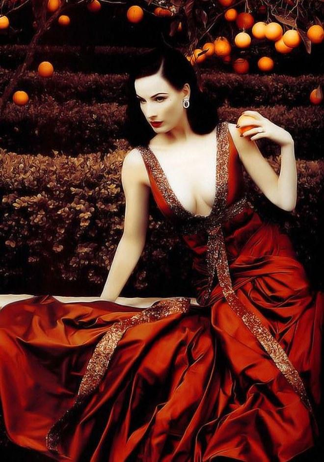 Những ảnh sexy nhất của vũ nữ thoát y số 1 thế giới Dita Von Teese - hình ảnh 8