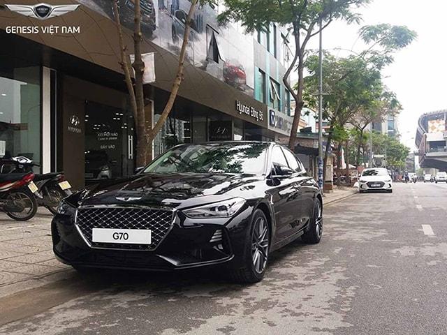 Genesis G70 có giá 1,7 tỷ đồng tại Việt Nam