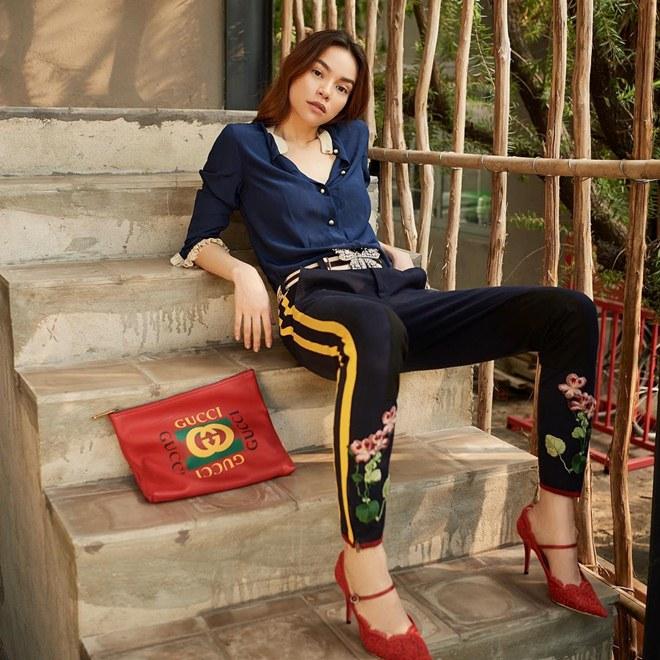 Dáng ngồi từ sexy đến nhạy cảm của Phạm Hương, Angela Phương Trinh - hình ảnh 9
