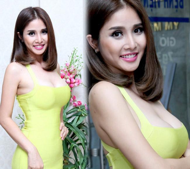 Sau sửa vòng 1, Vân Hugo, Phi Thanh Vân… mê mốt váy áo lả lơi như sắp rơi - hình ảnh 9