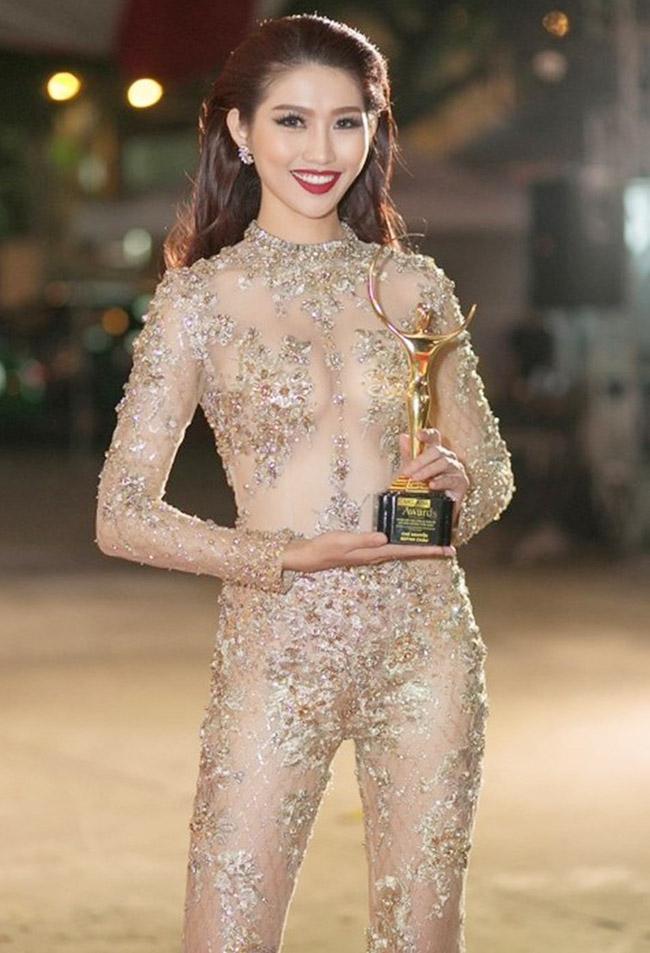 """Váy màu nude dễ mắc lỗi phản cảm của Elly Trần, """"bé heo"""" Minh Hằng - hình ảnh 8"""