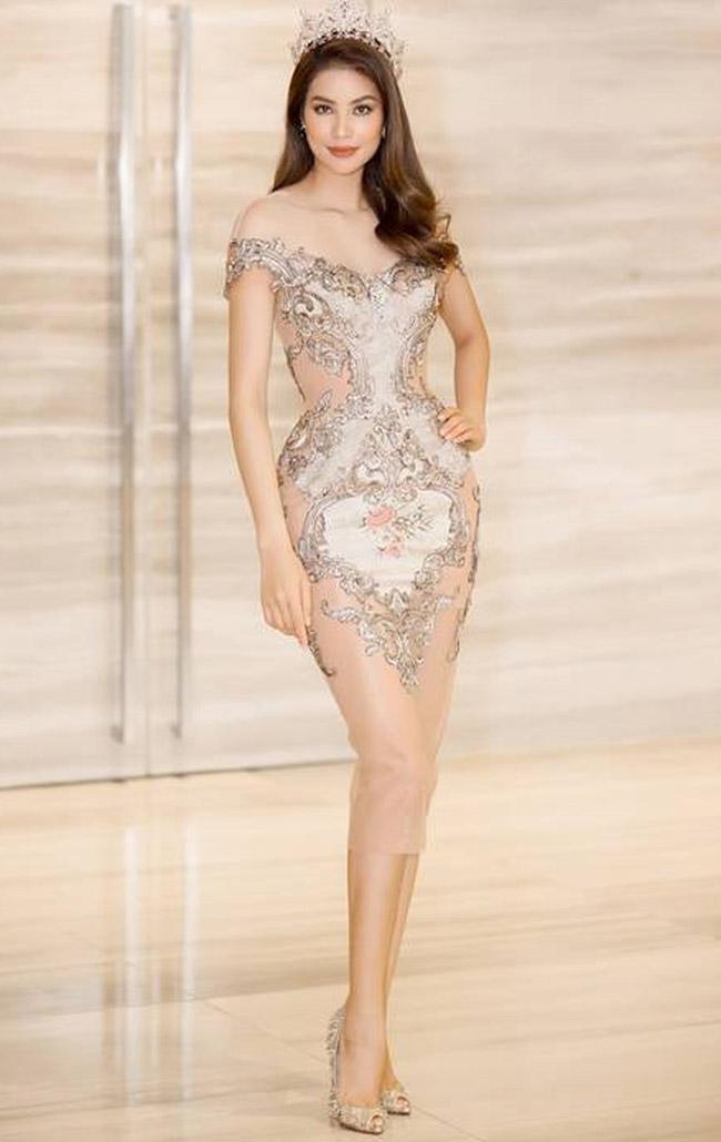 """Váy màu nude dễ mắc lỗi phản cảm của Elly Trần, """"bé heo"""" Minh Hằng - hình ảnh 13"""
