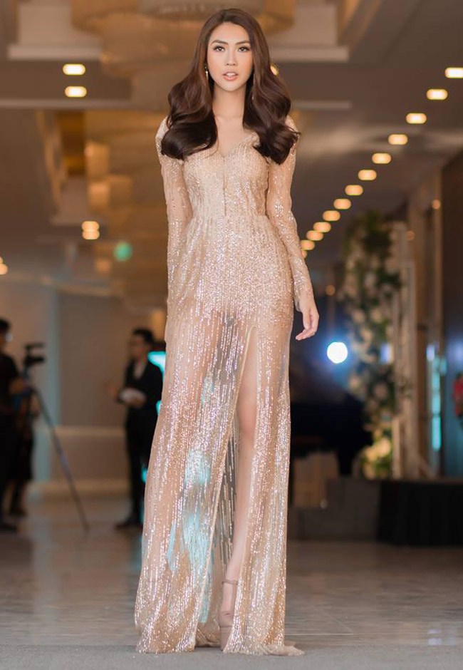 """Váy màu nude dễ mắc lỗi phản cảm của Elly Trần, """"bé heo"""" Minh Hằng - hình ảnh 16"""