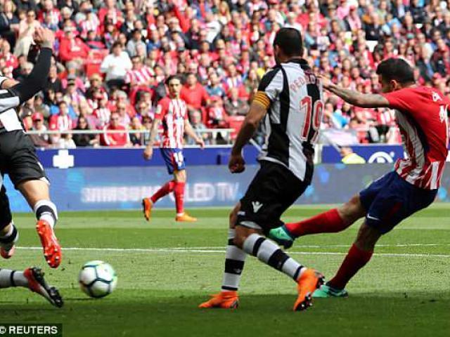 """Atletico Madrid - Levante: """"Mưa bàn thắng"""" tri ân huyền thoại"""