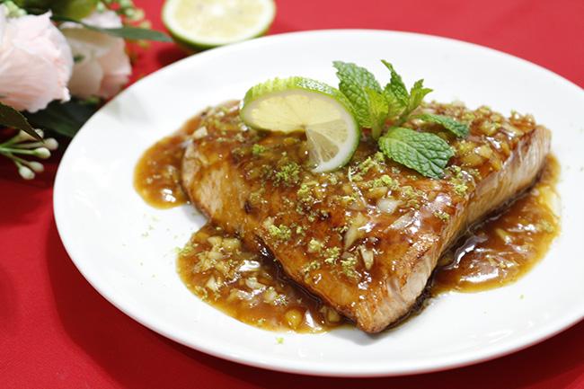 Thi thoảng ăn sang với cá hồi sốt bơ béo ngậy, thơm lừng - 8